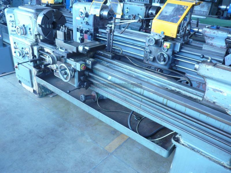 Tornio parallelo usato cmt ursus 250x2000mm sidermac for Tornio piccolo usato