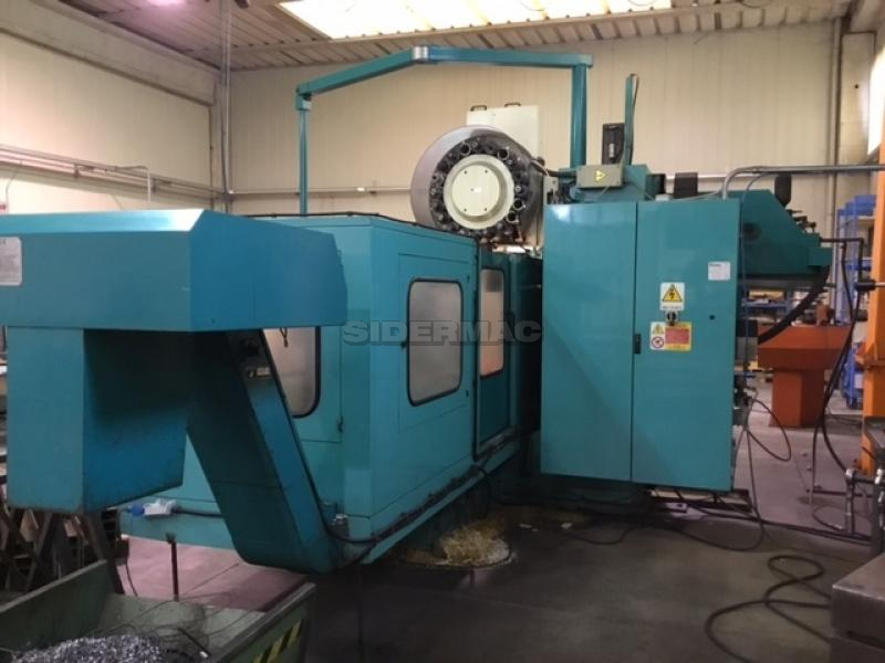 Used milling machine DEBER mod  DYNAMIC 2 CNC - Sidermac