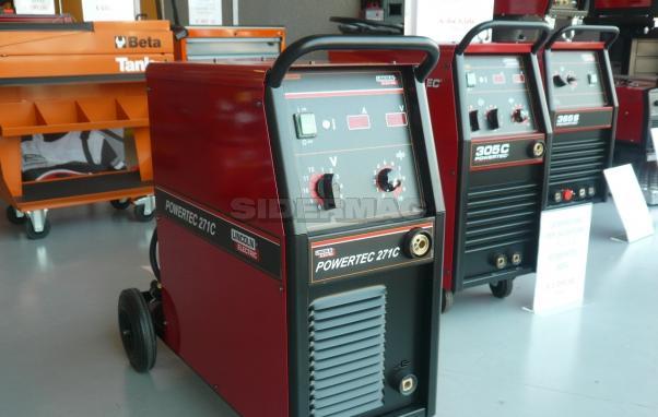 Generatore per saldatura LINCOLN mod. POWERTEC 271C