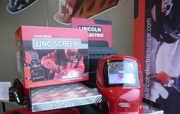 Welding mask  LINCOLN mod. LINC SCREEN
