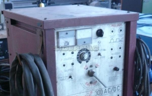 Impianto di saldatura usato TIG WELDTRONIC 300 AC/DC