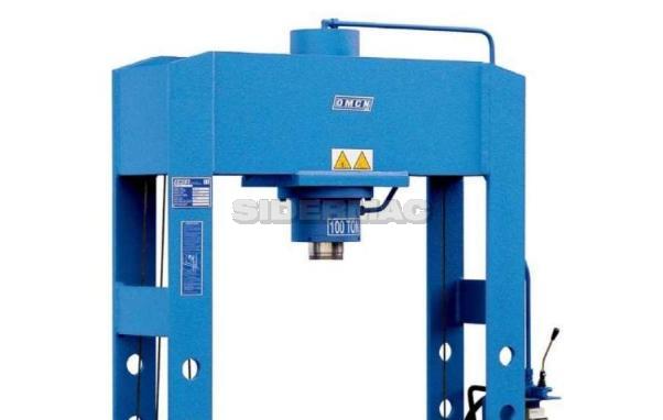 Pressa elettromeccanica nuova omcn mod 162 w sidermac for Presse idrauliche usate per officina
