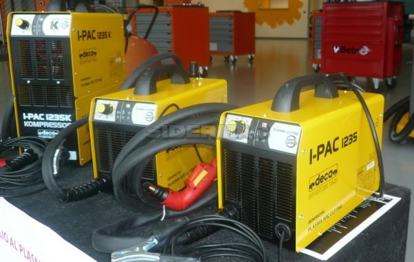 Taglio al plasma inverter DECA mod. I-PAC 1235