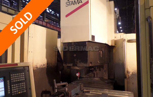 Centro di lavoro verticale usato STAMA mod. MC 550