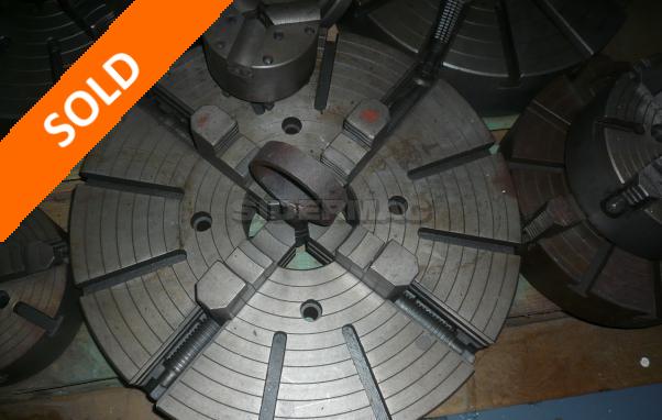 Used plateau diameter 600 mm