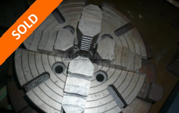 Used plateau diameter 260 mm