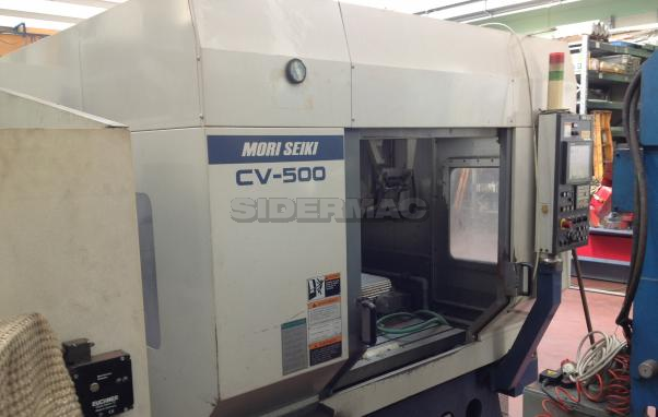 Used machining center MORI SEIKI CV-500