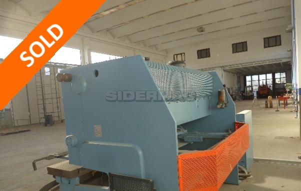 Hydraulic shear 2000 X 6/8 mm
