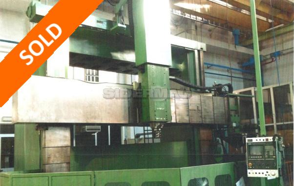 Tornio verticale usato TITAN mod. SC43 3H CNC