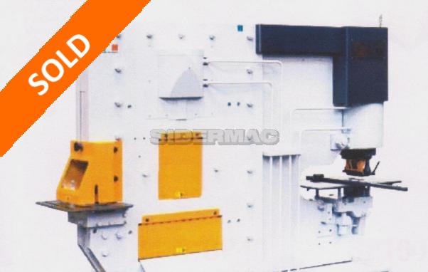 Cesoia punzonatrice idraulica bicilindrica FICEP mod. ST80-ST100 - Bene nuovo