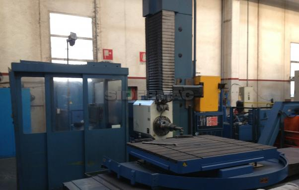Used boring machine TOS mod. WH(Q) 105 CNC