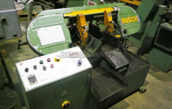 Used automatic bandsaw RUSCH mod. 250 AS