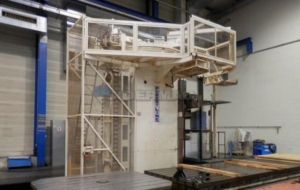Used boring machine FOREST LINE mod. MODUMILL MH