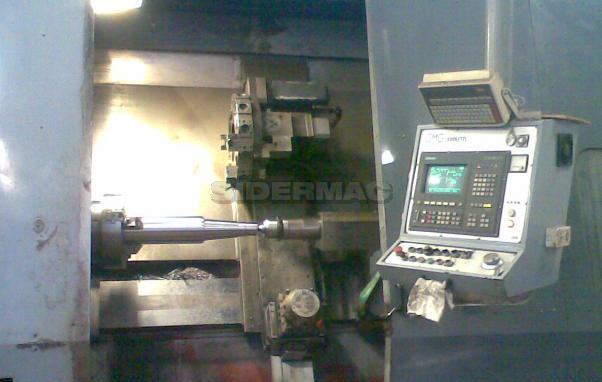Tornio parallelo CNC usato OMG ZANOLETTI