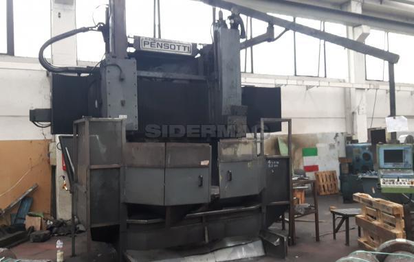 Used vertical lathe PENSOTTI TP 1600 CNC