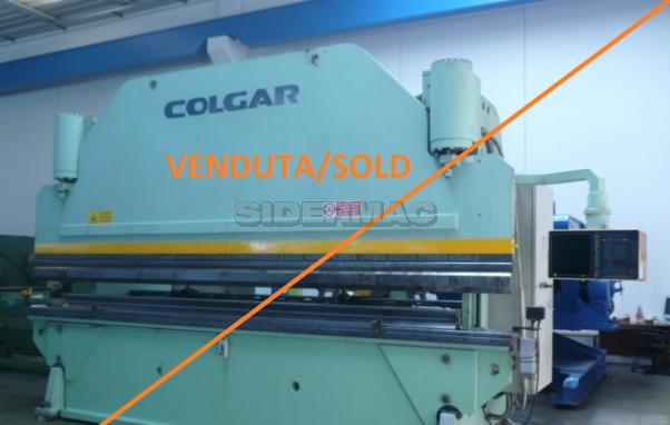 Used 7 axis CNC press brake COLGAR CNC 5000x250 T (very good conditions)