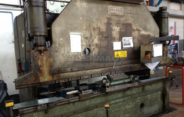 Used press brake COLGAR 3000x80ton