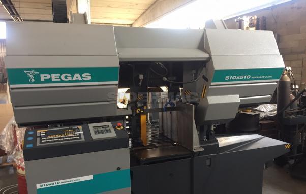 Segatrice a nastro PEGAS 510x510 HERKULES CNC nuova