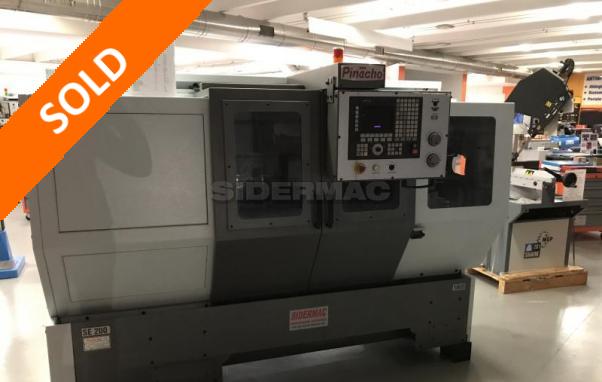 Neue CNC-Drehmaschine PINACHO mod. SE 200