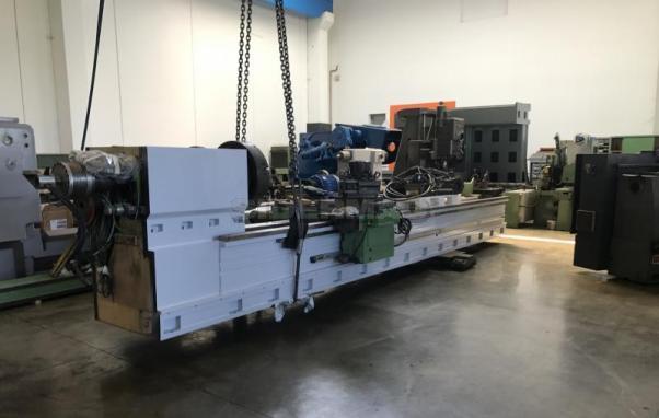 Tornio parallelo usato SAFOP LEONARD 520 CNC