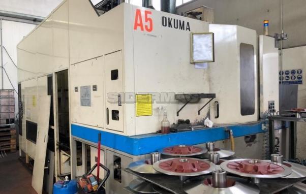 Centro di lavoro OKUMA mod. MA-50HA