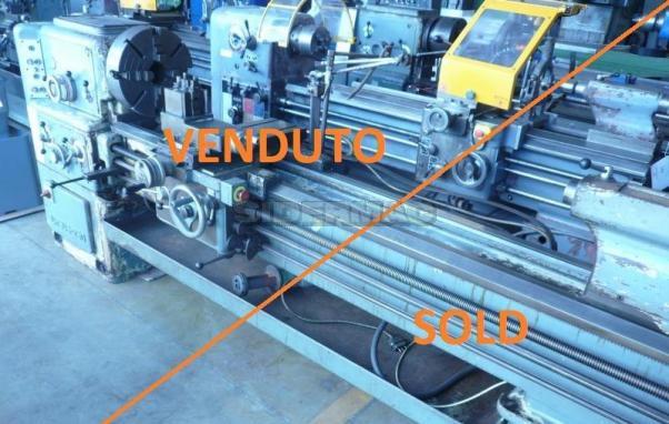 Tornio parallelo usato CMT URSUS 250x2000mm - VENDUTO