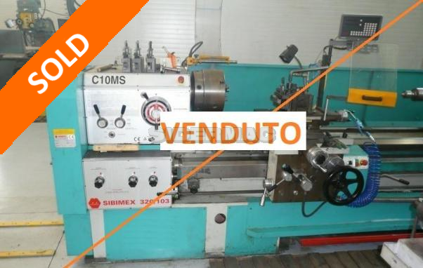 Tornio parallelo Sibimex C10 MS -  VENDUTO