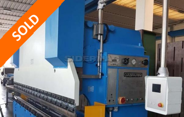 Pressa piegatrice usata GASPARINI CN 4000X160 ton