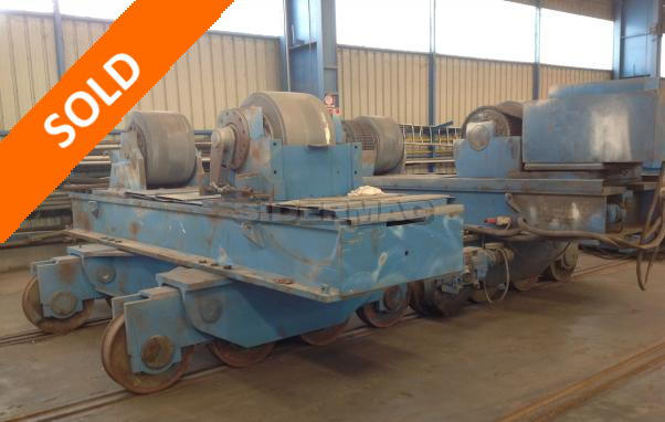 Used heavy duty rolls positioners LAMBERT-JOUTY CZ 1000