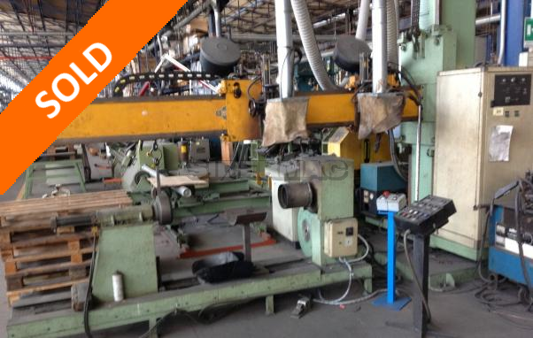 Used welding machinery for pipes building